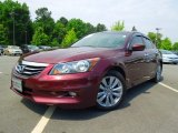 2011 Basque Red Pearl Honda Accord EX-L V6 Sedan #65481420