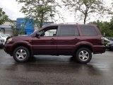 2007 Dark Cherry Pearl Honda Pilot EX-L 4WD #65481696