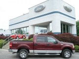 2006 Dark Toreador Red Metallic Ford F150 XLT SuperCrew 4x4 #65480823