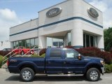 2012 Dark Blue Pearl Metallic Ford F250 Super Duty XLT Crew Cab 4x4 #65480817