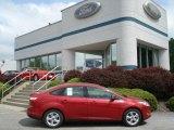 2012 Red Candy Metallic Ford Focus SE Sport Sedan #65480813