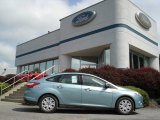 2012 Frosted Glass Metallic Ford Focus SE Sedan #65480812