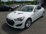 2013 Hyundai Genesis Coupe Monaco White