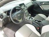 2013 Hyundai Genesis Coupe 2.0T Premium Gray Leather/Gray Cloth Interior
