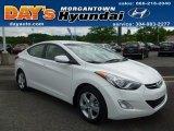2013 Shimmering White Hyundai Elantra GLS #65481622