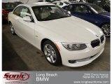 2012 Mineral White Metallic BMW 3 Series 335i Convertible #65481308