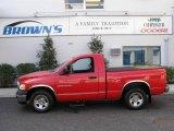 2004 Flame Red Dodge Ram 1500 ST Regular Cab #6529866