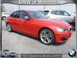 2012 Melbourne Red Metallic BMW 3 Series 335i Sedan #65481249