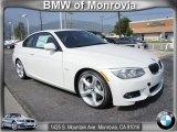2012 Mineral White Metallic BMW 3 Series 335i Coupe #65481241