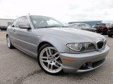 2004 Silver Grey Metallic BMW 3 Series 330i Coupe #65480723