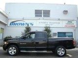 2005 Black Dodge Ram 1500 Laramie Quad Cab 4x4 #6529884