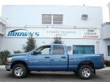 2006 Atlantic Blue Pearl Dodge Ram 1500 SLT Quad Cab 4x4 #6529946