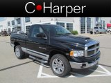 2004 Black Dodge Ram 1500 SLT Regular Cab 4x4 #65480679