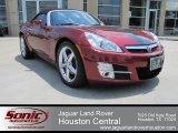 2009 Saturn Sky Ruby Red Special Edition Roadster