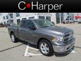 2010 Mineral Gray Metallic Dodge Ram 1500 Big Horn Quad Cab 4x4 #65480676