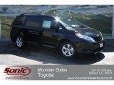 2012 Black Toyota Sienna LE #65480635