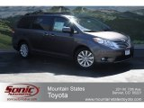 2012 Predawn Gray Mica Toyota Sienna Limited #65480634