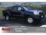 2012 Nautical Blue Metallic Toyota Tacoma V6 SR5 Double Cab 4x4 #65480629