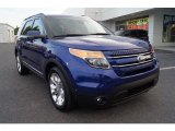 2013 Deep Impact Blue Metallic Ford Explorer Limited 4WD #65481065