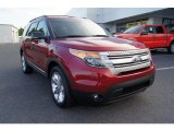2013 Ruby Red Metallic Ford Explorer XLT 4WD #65481064