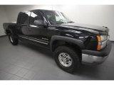 2003 Black Chevrolet Silverado 1500 LS Crew Cab #65412177