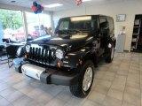 2012 Black Jeep Wrangler Sahara 4x4 #65553910
