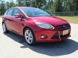 2012 Red Candy Metallic Ford Focus SEL 5-Door #65554171
