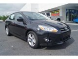 2012 Tuxedo Black Metallic Ford Focus SE Sport Sedan #65553557