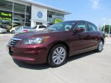 2011 Basque Red Pearl Honda Accord EX-L Sedan #65553737