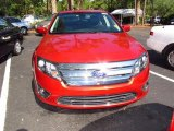 2011 Red Candy Metallic Ford Fusion SEL #65553408