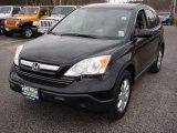 2009 Crystal Black Pearl Honda CR-V EX-L 4WD #65553395