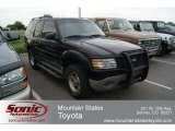 2001 Black Ford Explorer Sport 4x4 #65553384