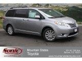 2012 Silver Sky Metallic Toyota Sienna Limited AWD #65553378