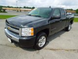 2009 Black Chevrolet Silverado 1500 LT Extended Cab #65553954