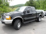 2000 Black Ford F250 Super Duty XLT Extended Cab 4x4 #65553941