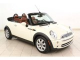 2007 Pepper White Mini Cooper Convertible Sidewalk Edition #65553929