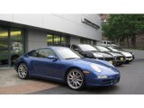Cobalt Blue Metallic Porsche 911 in 2007