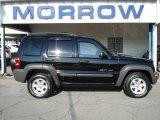 2002 Black Jeep Liberty Sport 4x4 #65611945