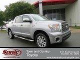 2010 Silver Sky Metallic Toyota Tundra Platinum CrewMax 4x4 #65612336