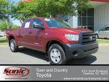 2010 Salsa Red Pearl Toyota Tundra Double Cab #65612335