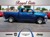 2011 Deep Water Blue Pearl Dodge Ram 1500 SLT Quad Cab 4x4 #65612588