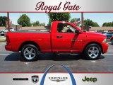 2012 Flame Red Dodge Ram 1500 Express Regular Cab #65612584