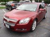 2008 Red Jewel Tint Coat Chevrolet Malibu LTZ Sedan #65611772