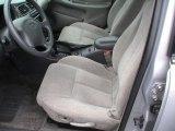2000 Oldsmobile Alero GL Sedan Pewter Interior