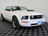 2005 Performance White Ford Mustang V6 Deluxe Coupe #65612217