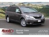 2012 Predawn Gray Mica Toyota Sienna LE AWD #65611716