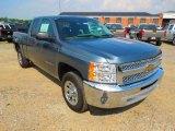 2012 Blue Granite Metallic Chevrolet Silverado 1500 LS Extended Cab #65612460