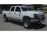 2003 Summit White Chevrolet Silverado 1500 LS Crew Cab 4x4 #65612425
