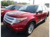 2013 Ruby Red Metallic Ford Explorer XLT EcoBoost #65612401