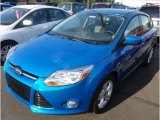 2012 Blue Candy Metallic Ford Focus SE Sport 5-Door #65612399